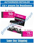 t mobile plan prices - T-Mobile  PRELOADED SIM CARD with $50 $75 1 or 2 Month Plan ++++BEST PRICE +++++