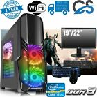 Ultra Fast I5 Desktop Gaming Computer Pc 1tb 8gb Ram Gt710 Keyboard Mouse Screen