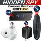 HD 1080P Mini Spy Hidden Wireless Camera IP Security 360° P