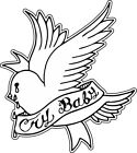 Lil Peep Goth Boi Cry Baby Dove Vinyl Sticker (Laptop Phone Window Vehicle PS4)