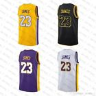 Lebron James Los Angeles Lakers Basketball Jersey 2018 ALL COLOR WAYS + SIZES