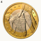 SEX EUROS GOLDEN COINS COLLECTIBLE 18+ ADULTS ONLY COUPLE GIFT COMMEMORATIVE W
