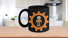 Robots Are Cool Retro Vintage 11oz Coffee Cup Sci-Fi Fan Science Geek STEM