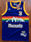 NBA Denver Nuggets Allen Iverson Throwback Hardwood Sewn/Stitched Jersey NWT on eBay