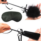 Sex MISCHIEF Rubber Whip Feather Tickler Complimentary Blindfold Couple Game