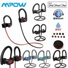 MPOW Flame IPX7 Wireless Bluetooth SPORTS Headphones STEREO BASS Gym Earbuds MIC