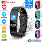 Bluetooth Smart Watch Fitness Activity Tracker Heart Rate For iPhone iOS Samsung