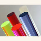 """Acrylic Lucite Rod Dowel - Two 3/8"""" 9.525mm x 24"""" 610mm"""