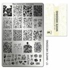 Moyra Stamping Plate Nail Art Accessories plates 01-25