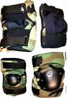 Set of US Military Issue Woodland Camouflage Elbow & Knee Pads L, Sm, MedKnee & Elbow Pads - 177894