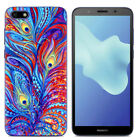 For Huawei Y9 Y5 Y6 Y7 Prime 2018 Painted Shockproof Soft TPU Back Case Cover