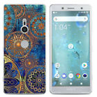 For Sony Xperia XA1 Plus XA2 Ultra Painted Shockproof Soft TPU Back Case Cover