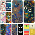 For HTC U11 Life Plus Desire 12 Plus Painted Shockproof Soft TPU Back Case Cover
