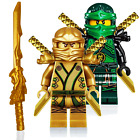 LEGO NINJAGO MINIFIGURE SETS ZANE COLE NYA KAI JAY GOLDEN DRAGON LLOYD MINIFIGS <br/> Spinjitzu Masters Dimensions Kid Building Blocks Figure