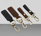 Key Chain & Leather Belt Loop Key Holder Ring Keychain Keyri