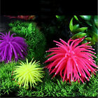1x Silicone Aquarium Fish Tank Decor Artificial Coral Plant Underwater Orname Z0