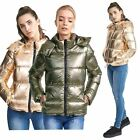 New Womens Brave Soul Hooded Quilted Winter Coat padded Puffer Parka Jacket 8-16