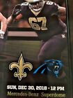 (4) FOUR TICKETS TO SEE THE NEW ORLEANS SAINTS VS. CAROLINA PANTHERS 12/30/18