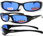 New Attitude Blue Lenses Sunglasses Motorcycle Black Spring Assisted Temples