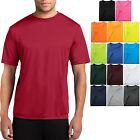 Men's Moisture Wicking T-Shirt Workout Performance Tee S, M, L, XL, 2X, 3X, 4X  image