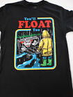 It The Movie You'll Float Too Georgie Pennywise The Clown Paper Boat T-Shirt