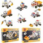 Metal DIY Kid Toy Assembly Model Kit Building Blocks Construction Vehicle MT