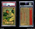 1952 Topps #133 Al Widmar Gray Back White Sox PSA 1 - POOR