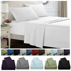 Full Size Count 4 Piece 12'' Deep Pocket Bed Sheets Set Egyptian Comfort Bed Set image