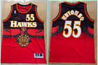 men's Atlanta Hawks Dikembe Mutombo no.55 classical swingman jersey S-2XL