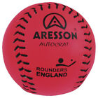 Aresson England Baseball Sports Autocrat Leather Rounders Match Play Ball Pink