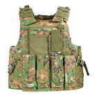 UltraGuards Tactical Air soft Paintball MOLLE Plate Carrier Combat Play VestChest Rigs & Tactical Vests - 177891
