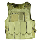 UltraGuards Tactical Airsoft Paintball MOLLE Plate Carrier Combat Play VestChest Rigs & Tactical Vests - 177891