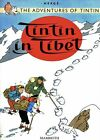 Vintage Tintin In Tibet Comic Book Cover Poster A3 Print