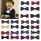 Внешний вид - Student Kids Baby Boys Bow Tie School Wedding Party Xmas Formal Pageant Necktie