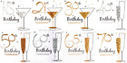 Pack of 6 Special Age Male Female Birthday Party Invites Invitation Cards