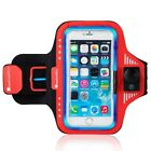 Water Resistant Adjustable LED Glow Sport Armband For Apple iPhone 8 7 6 5.0""