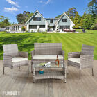 Black Rattan Garden Furniture Dining Chair Sofa Table Outdoor Patio Conservatory