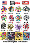 Girls Kids Braid Jumbo Beads Scrunchie Hair Tie Ball Ponytail Holder Bands