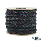 Paracord Planet Twisted Cotton Rope 1/4 & 1/2-in Cord - USA MADE - Dog Toy Safe