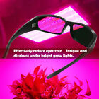 LED Grow Room Glasses Eye Protective Anti UV400 LED Indoor Hydroponics Eyewear