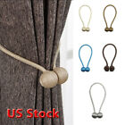 Kyпить New Ball Magnetic Curtain Buckle Holder Tieback Clips Home Window Accessories US на еВаy.соm