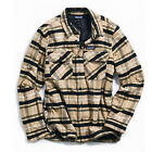 PATAGONIA Mens INSULATED FJORD FLANNEL JACKET Tom's Place: Mojave Khaki