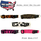 Animal print High Quality Dog Collars