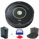 iRobot Roomba 650 or 655 Automatic Robotic Vacuum w/ Dock (Black or Silver) photo