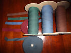 """10 yd Cotton Twill hem Tape diff color Craft Sewing 1/4"""",3/8"""",1/2"""",3/4"""",1"""" wide"""