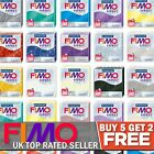FIMO Effect Polymer Oven Modelling Clay 57g - All 36 Colours - Buy 5 Get 2 Free image