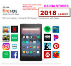 Amazon Kindle Fire HD 8 8th gen 2018 Alexa 16 GB 32 GB Black Red Blue Yellow