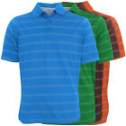 Antigua Deluxe Performance Striped Polo Golf Shirt,  Brand NEW