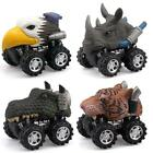 Dinosaur Toys, Pull Back Dino Cars with Big Tire for 2 to 5 Year Old Boys Girls