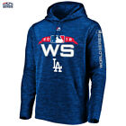 Los Angeles Dodgers Majestic Fleece Hoodie 2018 World Series Authentic Collectio on Ebay